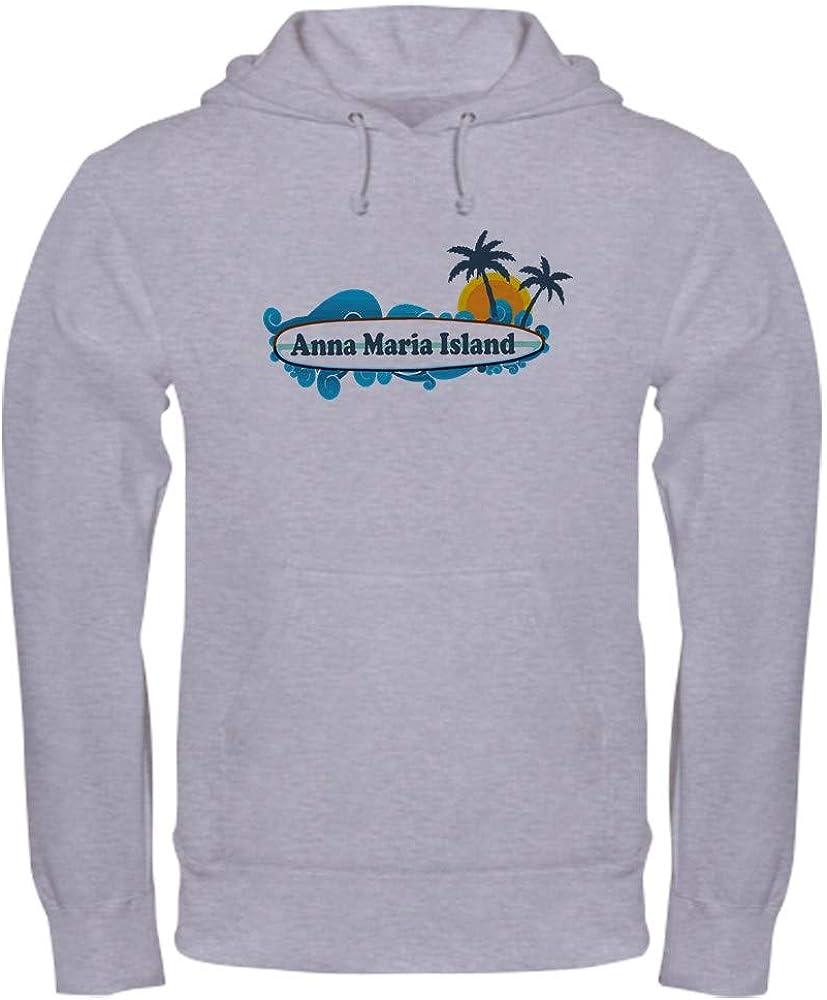 CafePress Anna Maria Island Surf Design. Sweatshirt