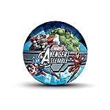 old avengers - Hedstrom Avengers Assemble Jr. Rubber Basketball, 7 Inch
