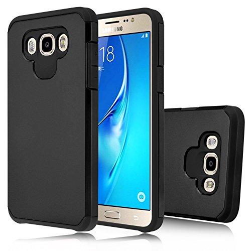 Slim Shockproof Case for Samsung Galaxy J7 (Black) - 9