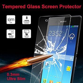 Evess Protector Pantalla Cristal Templado Sony Xperia Z3 Maxima ...