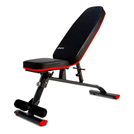 JOROTO Adjustable Weight Bench Utility- Workout Bench for Full Body Exercise Sit Up Bench Ab Abdominal Exercises