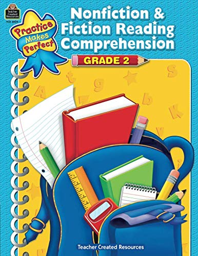 Nonfiction & Fiction Reading Comprehension Grade 2: Grade 2 (Practice Makes -