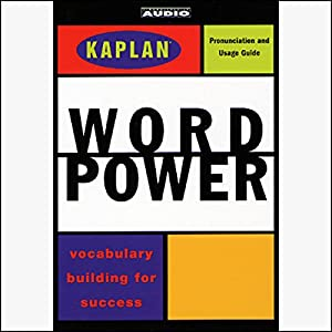 Kaplan Word Power Audiobook
