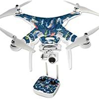 Skin For DJI Phantom 3 Professional – Saltwater Compass | MightySkins Protective, Durable, and Unique Vinyl Decal wrap cover | Easy To Apply, Remove, and Change Styles | Made in the USA