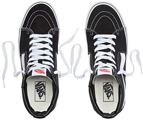 Vans Hi Tm Sk8 Core White Black Men's Classics Black xx1RT
