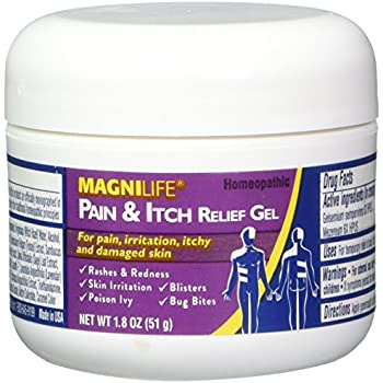 Amazon Com Magnilife Pain And Itch Relief Gel 1 8 Ounce