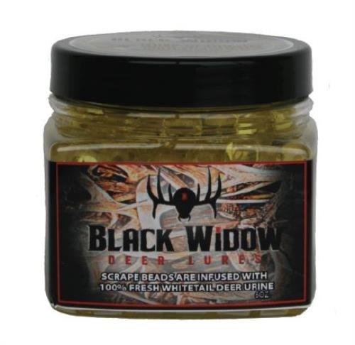 Black Widow Deer Lure Scrape Master Scent Beads 6 Oz Model: S0441
