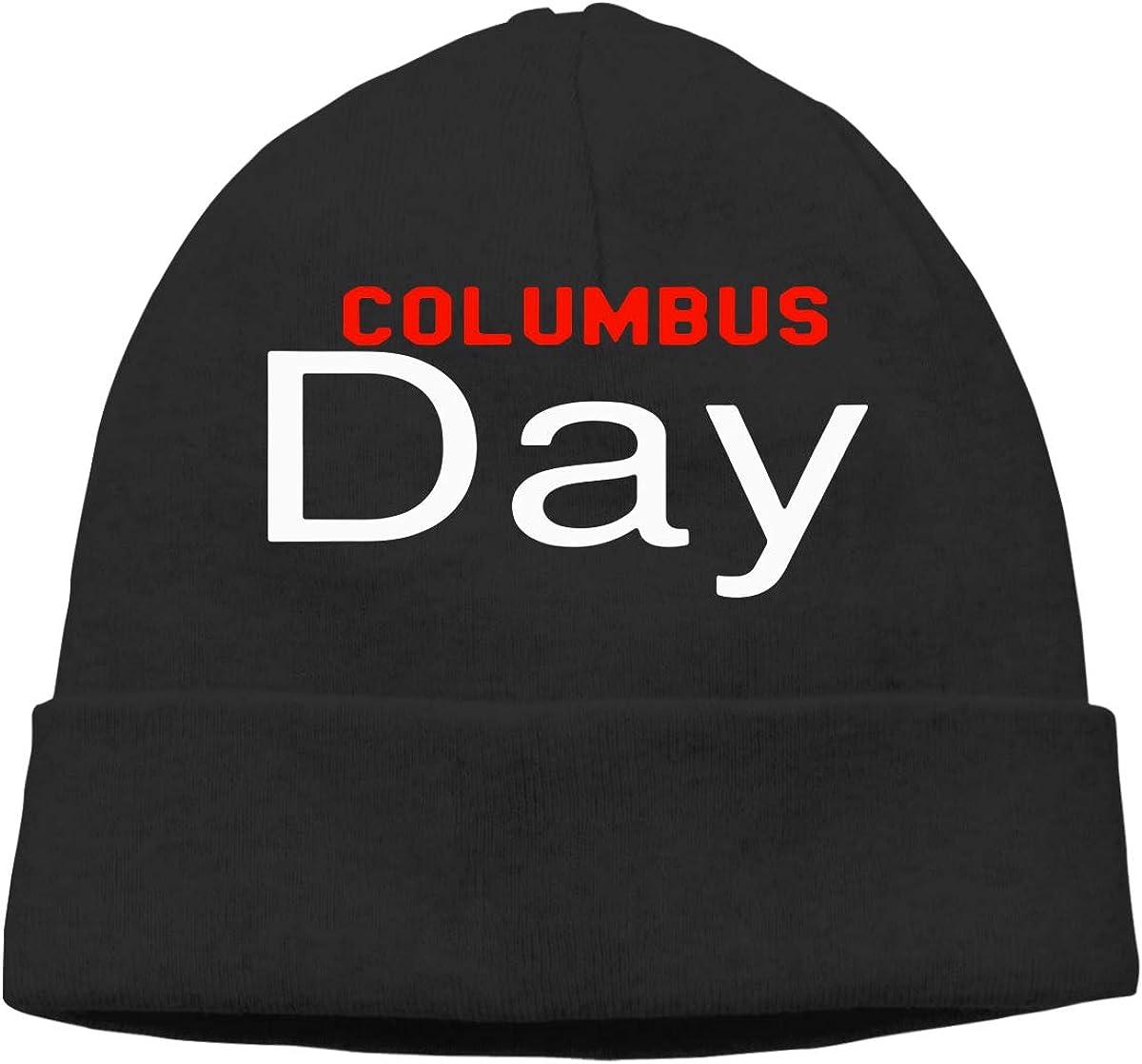 GDSG5/&4 Columbus Day Women and Men Quick Dry Sports Beanie Cap