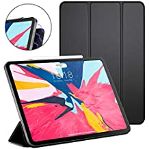 "DTTO iPad Pro 11"" Case 2018, [Apple Pencil Pair & Charge Supported] Magnetic Attached Smart Cover with All 102 Magnets Precisely Aligned, Auto Sleep/Wake for iPad Pro 11 Inch, Black"