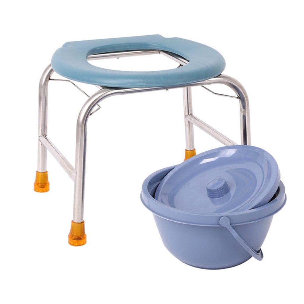 妊娠中の女性のためのステンレス鋼の便座高齢者のためのトイレ便座患者便器トイレ便 (サイズ さいず : 36センチメートル) B07CXQQVZQ 36センチメートル  36センチメートル
