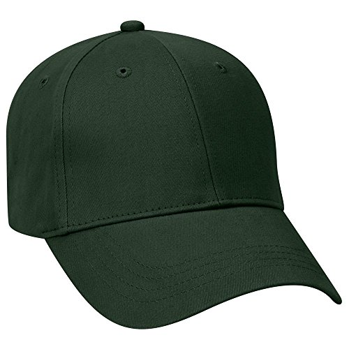 Otto Caps OTTO Brushed Cotton Twill Youth 6 Panel Low Profile Baseball Cap - Dk. (Brushed 6 Panel Cap)