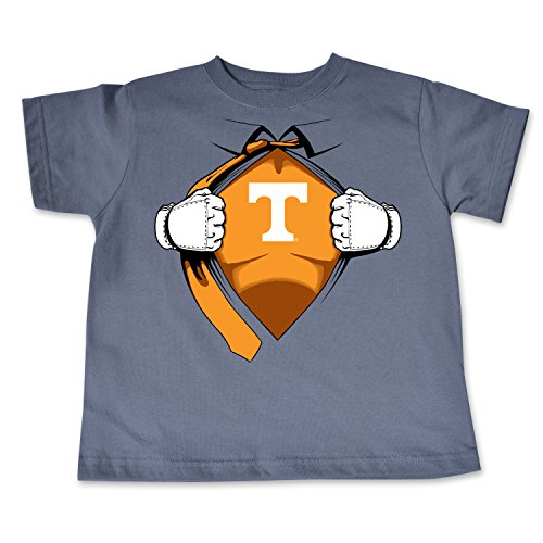 NCAA Tennessee Volunteers Toddler Short Sleeve Super Hero Tee, 3 Toddler, - Pack Volunteers Tennessee Tee