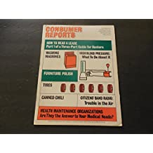 Consumer Reports Oct 1974 HMOs; Tires; Canned Chili; Washing Machines