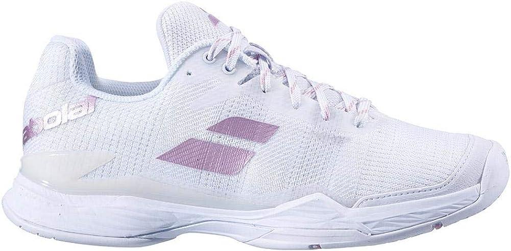 Babolat Jet Mach II AC Women, Chaussures de Tennis Femme Blanc