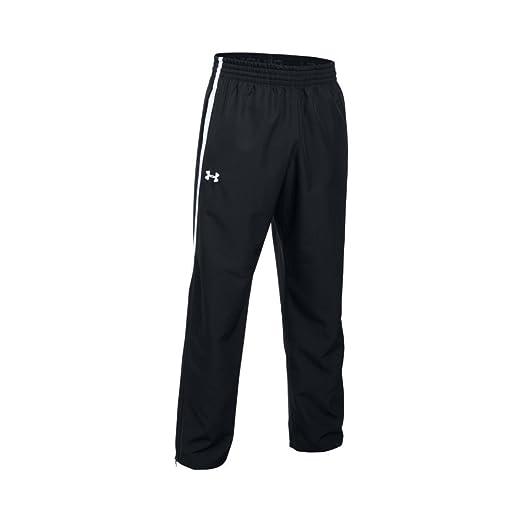 ecf34b3d1efe Amazon.com  Under Armour Team Essential Woven Men s Warm-Up Pants ...