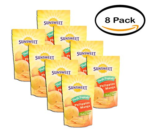 PACK OF 8 - Sunsweet Phillipine Grown Mango, 9 Oz by Sunsweet