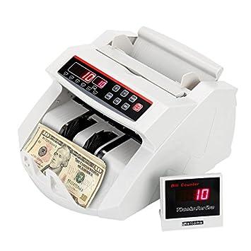 - Contador de billetes pro contador detector de billetes falsos UV 1000/min: Amazon.es: Informática