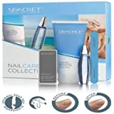 Seacret Nail Care Collection - Body Lotion,Cuticle Oil,Nail File,Buffing Block