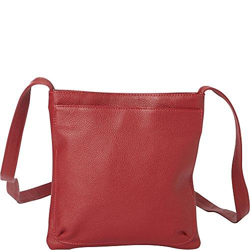 Leather Bag Crossbody Mini Red Piel 0qTE7wx