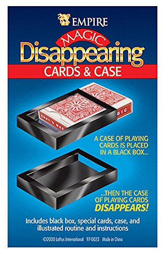 Loftus International Empire Magic Disappearing Cards and