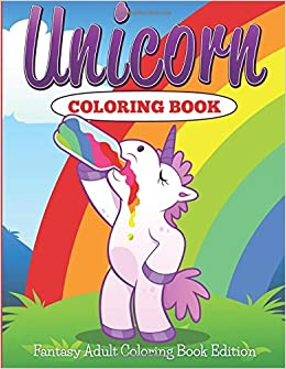 Unicorn Coloring Book Fantasy Adult Jupiter Kids 9781682600221 Amazon Books