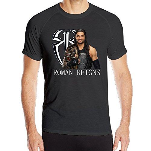 kaye-joy-mens-roman-reigns-quick-drying-short-sleeve-sport-t-shirt-black