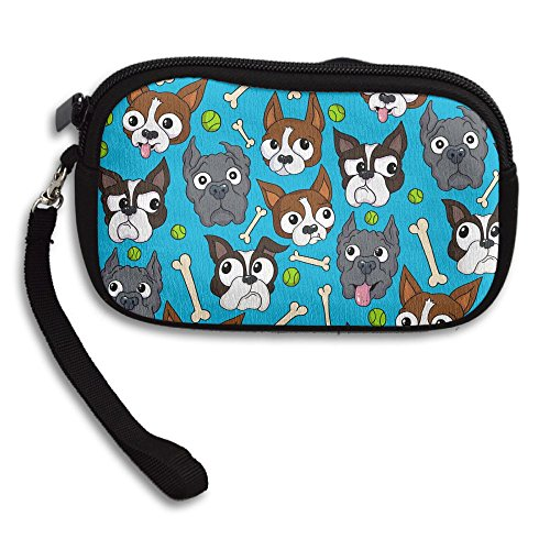 Bag Deluxe Receiving Ball Doggies Printing Bone Portable Small Pattern Purse aPWBzw