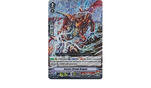 CFV-1x-Near Mint V-TD06//005 English-Excess Streak Dragon RRR-V-TD06: Naoki