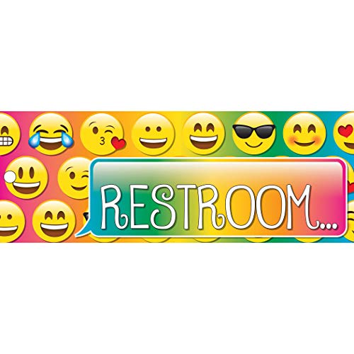 Ashley Productions Emoji's Double-Sided Large Restroom -