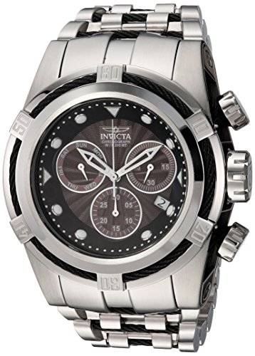 - Invicta Men's Bolt Quartz Watch with Stainless Steel Strap, Silver, 32 (Model: 23908)