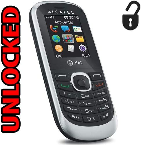 Alcatel 3G Unlocked GSM 510A Bar Phone Worldwide Quad Band ot-510a (Not CDMA Carriers Like Verizon Sprint Virgin) 51v-chQewWL