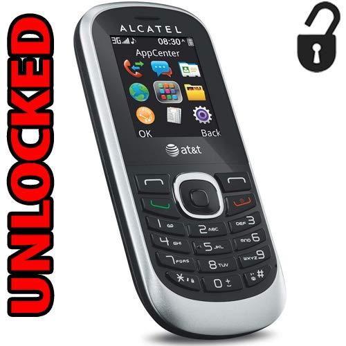 - Alcatel 3G Unlocked GSM 510A Bar Phone Worldwide Quad Band ot-510a (Not CDMA Carriers Like Verizon Sprint Virgin)