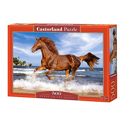 Castorland Horse on the Beach Jigsaw Puzzle (500 Piece)