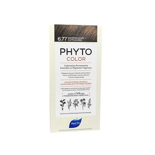 Phyto Phyto Color 6.77 Marron Claron Capuchino - 1 unidad