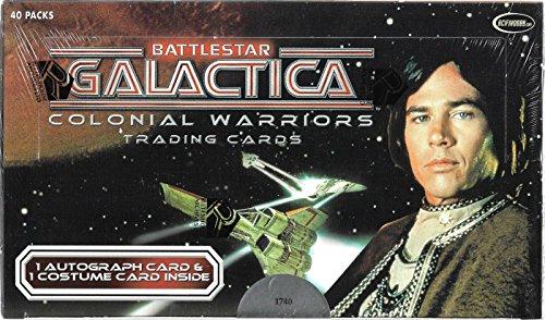 Battlestar Galactica Trading Cards - 2006 Rittenhouse Archives Battlestar Galactica Colonial Warriors Trading Cards Factory Sealed Box 40 Packs