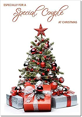 5ef8b654d0 Doodlecards to Special Couple Christmas Card Parcels and Christmas Tree -  Medium Size - Free Express Shipping: Amazon.co.uk: Office Products