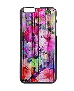 """Vintage Bright Chic Floral Pattern Purple Wood Hard Customized Case Cover , Iphone 6 (4.7"""") Case Cover, Protection Quique Cover, Perfect Fit, Show Your Own Personalized Phone Case for Iphone 6 - 4.7 Inches by ruishername"""