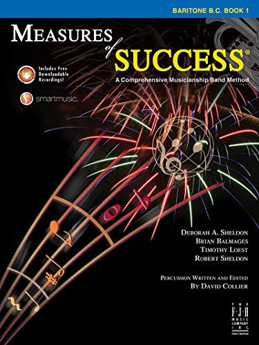 Measures of Success Baritone B.C. Book 1