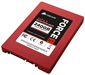 Corsair Force GT 240 GB SATA III/6G SATA 6.0 Gb-s 2.5-Inch Solid State Drive