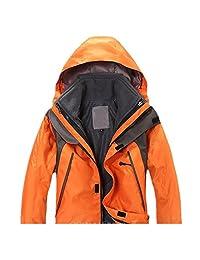 LJYH Winter Outdoor Sports Jackets Big Boys Girls Thicker Windproof Fleece Ski Suit