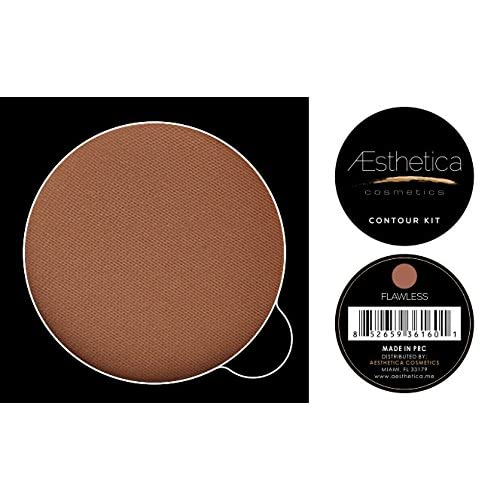 New Aesthetica Cosmetics Powder Refill for Contour and Highlighting Powder Foundation Palette, Color: Flawless supplier