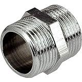 """1/2 """"x 1/2"""" rosca BSP tubo de conexión macho x macho accesorios Muff"""