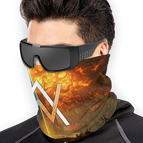 Alan Wallker World Of Warcraft Battle For Azeroth Unisex Fleece Neck Warmer Gaiter Seamless Face Mask Bandanas For Dust Outdoors Festivals Sports Soft Microfiber Headwear Scarf Neck Gaiter For Fishing