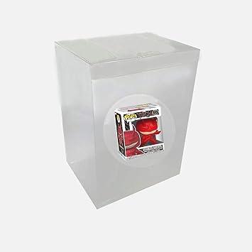 WiCareYo Caja Protectora Estuche Protectora de plástico Transparente para Figuras de Vinilo Funko Pop de 6 Pulgadas,5 Piezas: Amazon.es: Juguetes y juegos