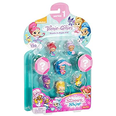 Fisher-Price Nickelodeon Shimmer & Shine, Teenie Genies, Genie (8 Pack), #12: Toys & Games