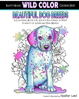 Amazon.com: Love Dogs Coloring Book for Adults (Volume 1 ...