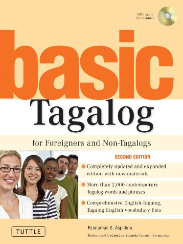 Basic Tagalog for Foreigners and Non-Tagalogs: (MP3 Audio CD Included) (Tuttle Language Library) by Brand: Tuttle Publishing