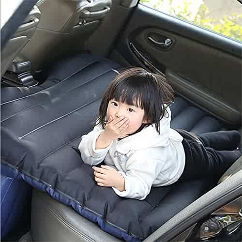 SZSS-CAR Oxford Car Inflatable Mattress Inflation Bed Travel Air Bed Camping Rest Sleep SUV Back Seat Shock Bed Extra Mattress with Pillow