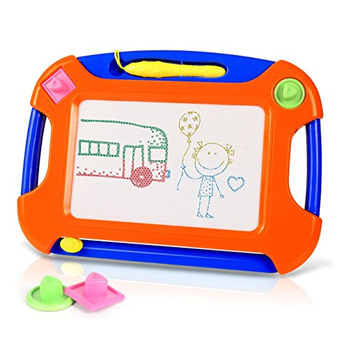 Dutison Magnetic Drawing Board For Kids, Erasable Doodle Col