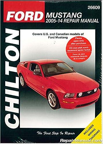Ford Mustang Repair Manual 2005-2014